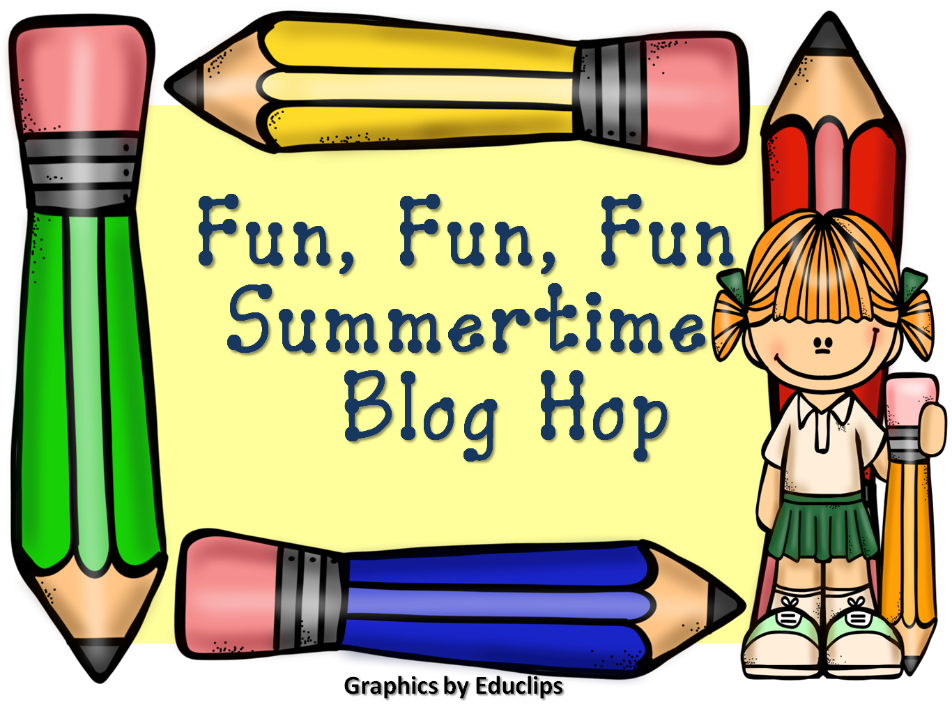 Fun, Fun, Fun Summertime Blog Hop