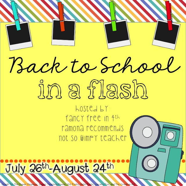 Back to School in a Flash Link Up