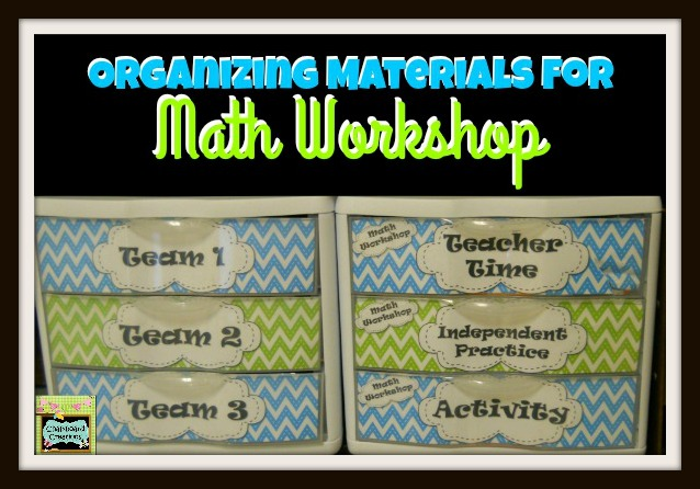 Organizing Math Workshop